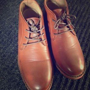 Other - Boys cognac dress shoes